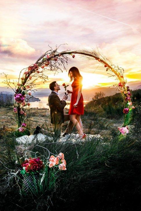 Verlobungsantrag machen